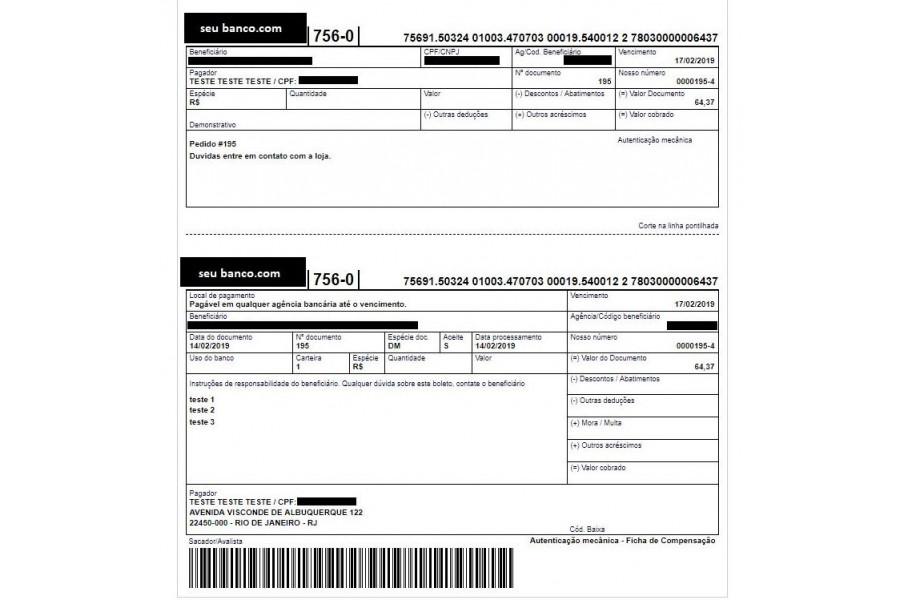 Plugin de Pagamento Banco do Brasil Ecommerce Boleto com Registro para Woocommerce