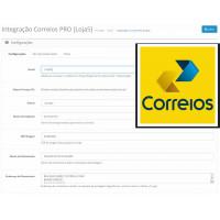 Módulo de Entrega Correios Online e Offline PRO para Opencart