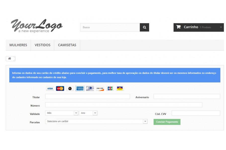 Módulo de Pagamento Gerência NET Transparente para Lojas Prestashop