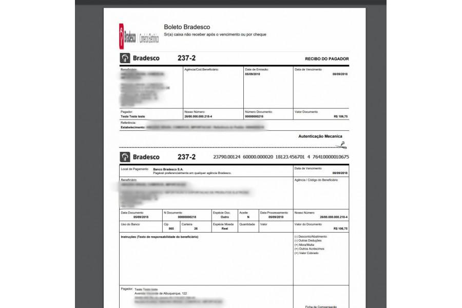 Módulo de Pagamento Bradesco API  Boleto Registrado para Prestashop [Download Imediato]