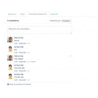 Comentários Facebook na Página do Produto para Opencart