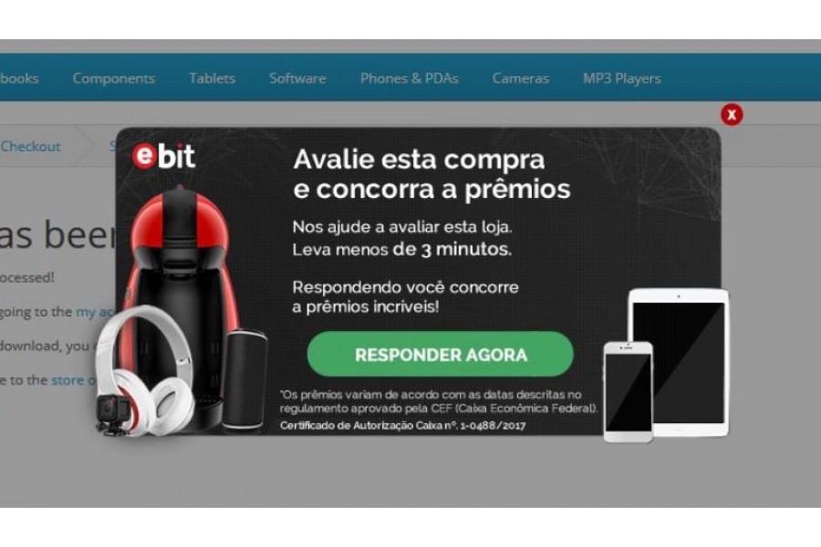 Integração Ebit Avaliações e Selo para lojas Opencart