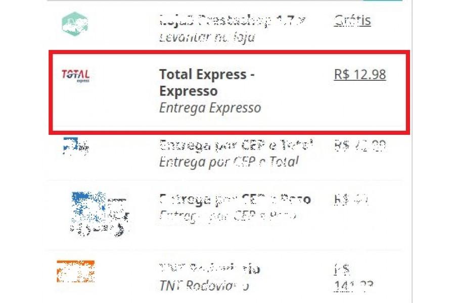 Módulo Transportadora Total Express Prestashop