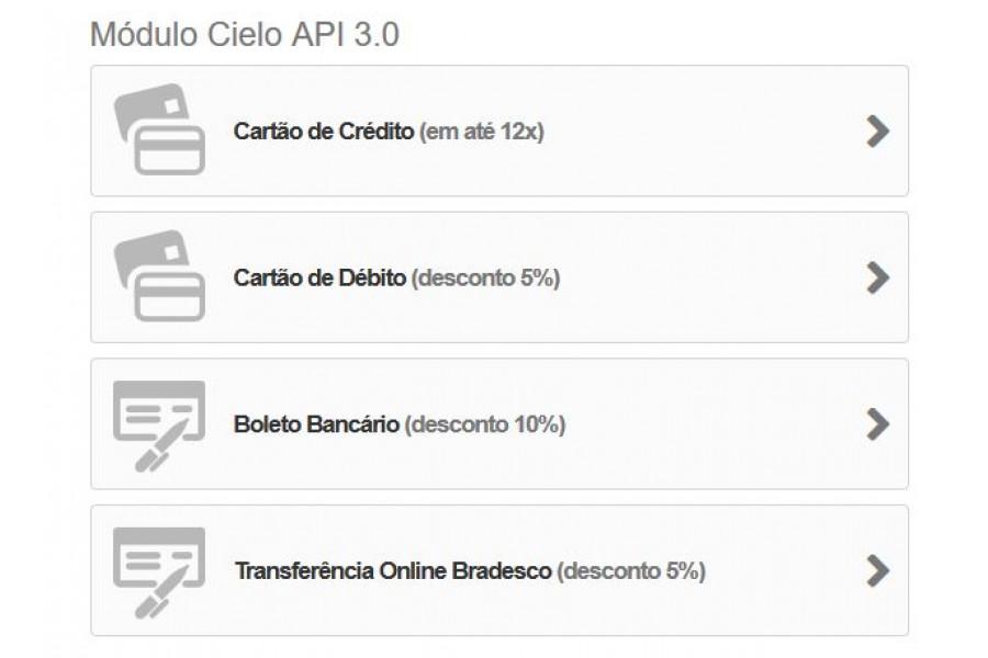 Plugin de Pagamento Cielo API 3.0 Cartões, Boleto e TEF para Prestashop [Download Imediato]