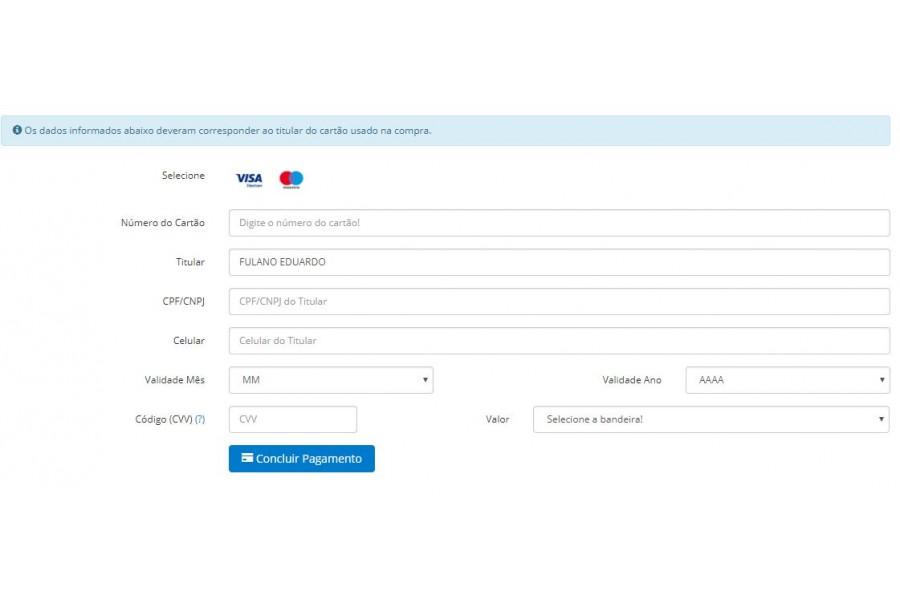 Módulo de Pagamento Getnet REST API Cartão e Boleto para Opencart [Download Imediato]