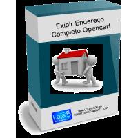 Exibir Endereço Completo no Admin e Catalogo para Opencart [Download Imediato]