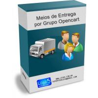 Formas de Entrega por Grupo de Clientes Opencart