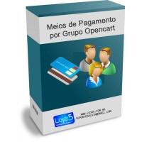 Formas de Pagamento por Grupo de Clientes Opencart [Download Imediato]