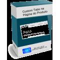 Módulo de Tabs Customizadas na Página do Produto Opencart [Download Imediato]