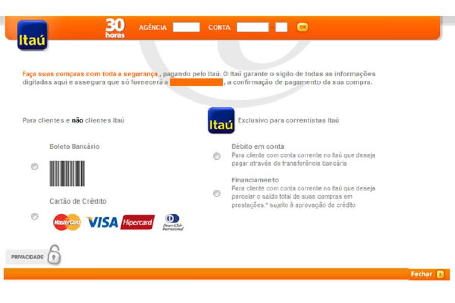 Módulo de Pagamento Boleto Registrado Itaú Shopline Lojas Opencart