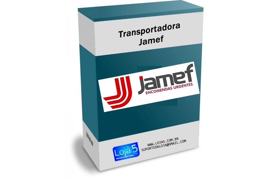 Módulo Transportadora Jamef Prestashop