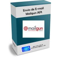 Integração E-mail Transacional Mailgun API Opencart [Download Imediato]