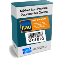Módulo de Pagamento Itaú Shopline Lojas Opencart [Download Imediato]