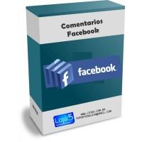 Comentários Facebook no Produto para Opencart