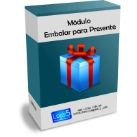 Módulo Embalar para Presente Opencart [Download Imediato]