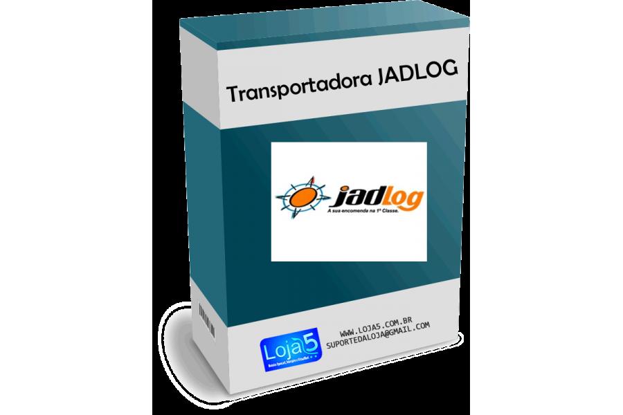 Módulo Transportadora Jadlog Rest API para Opencart