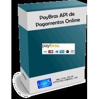 Módulo de Pagamento Online Paybras API Transparente para Lojas Opencart