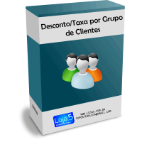 Módulo de Descontos e Taxas por Grupo de Clientes para Opencart [Download Imediato]