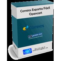 Módulo Exporta Fácil Correios para Lojas Opencart [Download Imediato]