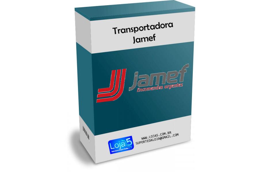 Módulo Transportadora Jamef Opencart